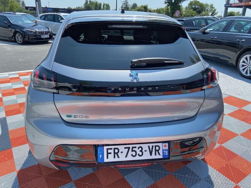 Peugeot 208 ELECTRIQUE 136 ALLURE Gris occasion à Lescure-d'Albigeois - photo n°6