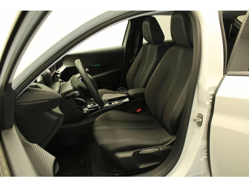 Peugeot 208 Electrique 50 kWh 136ch Allure Business Blanc occasion à Saint-Pierre-du-Mont - photo n°7