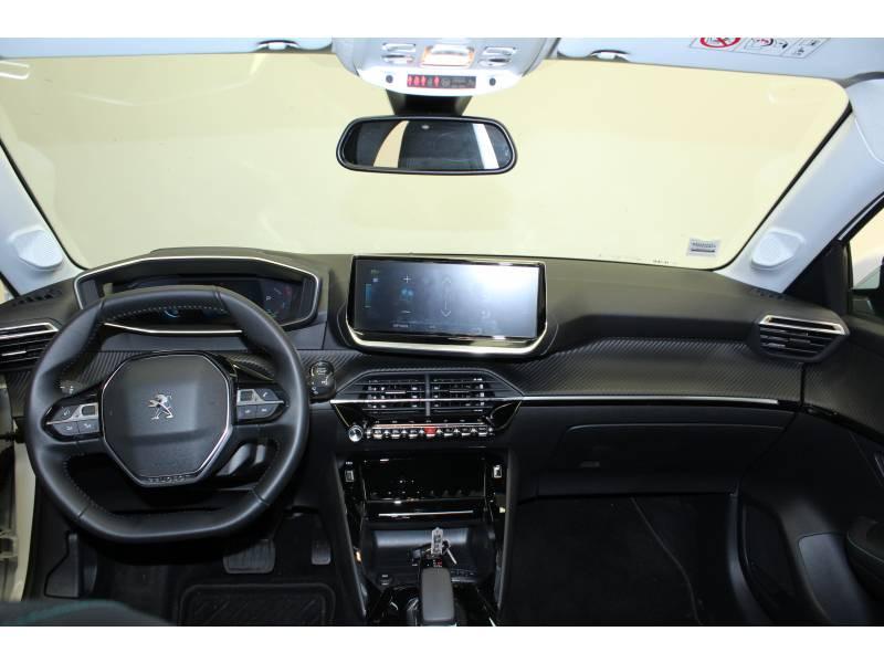 Peugeot 208 Electrique 50 kWh 136ch Allure Business Blanc occasion à Saint-Pierre-du-Mont - photo n°8