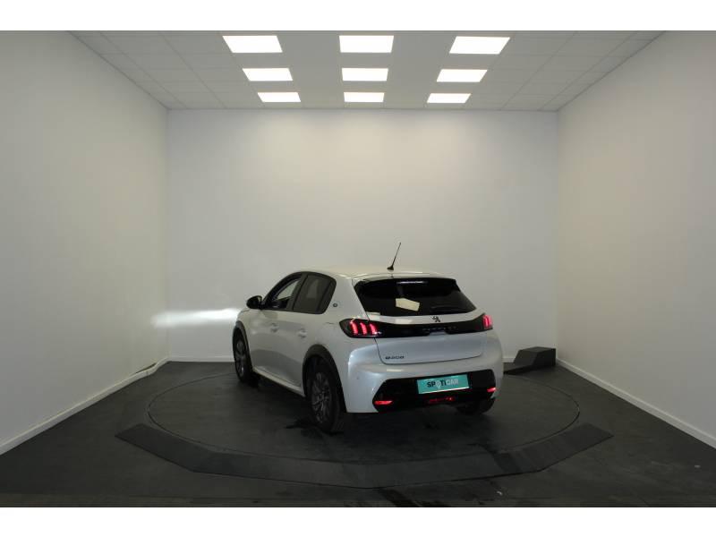 Peugeot 208 Electrique 50 kWh 136ch Allure Business Blanc occasion à Saint-Pierre-du-Mont - photo n°5