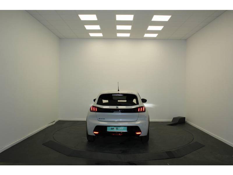 Peugeot 208 Electrique 50 kWh 136ch Allure Business Blanc occasion à Saint-Pierre-du-Mont - photo n°4