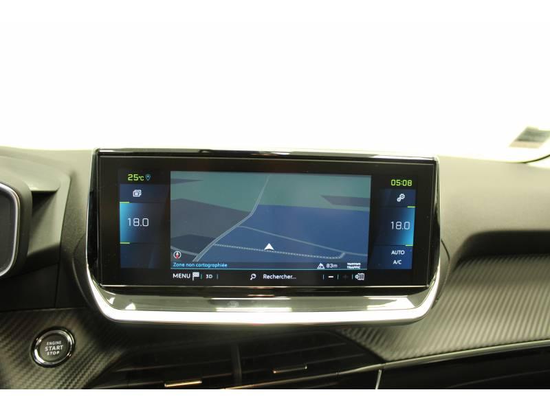 Peugeot 208 Electrique 50 kWh 136ch Allure Business Blanc occasion à Saint-Pierre-du-Mont - photo n°13