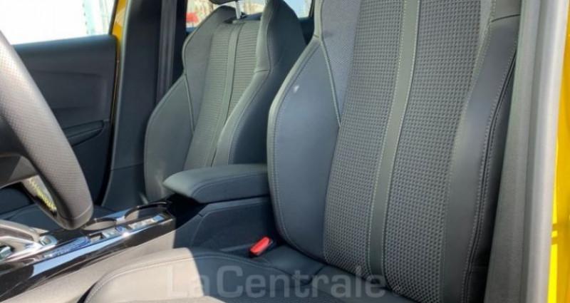 Peugeot 208 II 1.2 PURETECH 130 S&S 7CV GT LINE EAT8 Jaune occasion à Talange - photo n°4