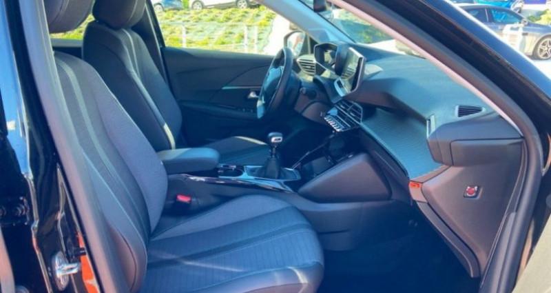 Peugeot 208 PureTech 100 SS BVM6 Allure Pack Noir occasion à GASSIN - photo n°7