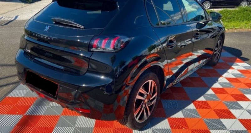 Peugeot 208 PureTech 100 SS BVM6 Allure Pack Noir occasion à GASSIN - photo n°2