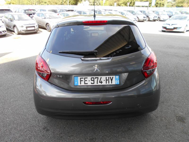 Peugeot 208 PureTech 82ch SetS BVM5 Signature Gris occasion à Bessières - photo n°2