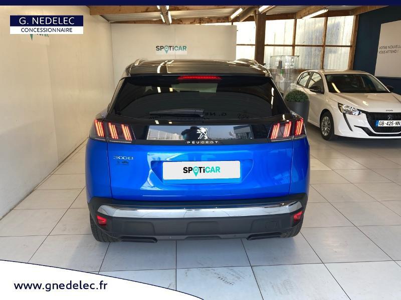 Peugeot 3008 1.2 PureTech 130ch S&S Allure Pack EAT8  occasion à Concarneau - photo n°5