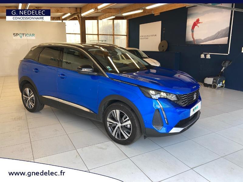 Peugeot 3008 1.2 PureTech 130ch S&S Allure Pack EAT8  occasion à Concarneau - photo n°3