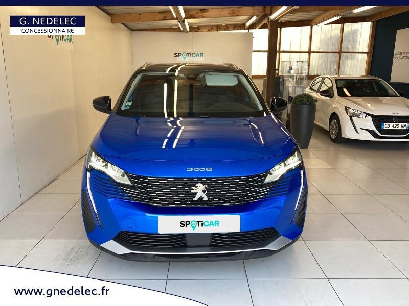 Peugeot 3008 1.2 PureTech 130ch S&S Allure Pack EAT8  occasion à Concarneau - photo n°2