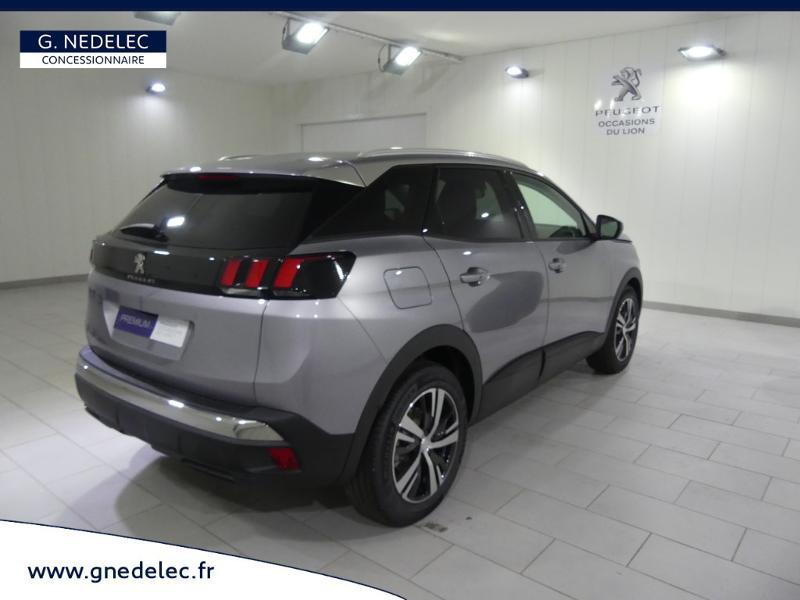 Peugeot 3008 1.5 BlueHDi 130ch E6.c Active S&S 6cv Gris occasion à Quimper - photo n°5