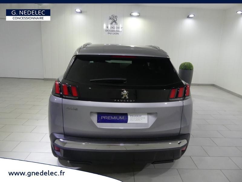 Peugeot 3008 1.5 BlueHDi 130ch E6.c Active S&S 6cv Gris occasion à Quimper - photo n°6