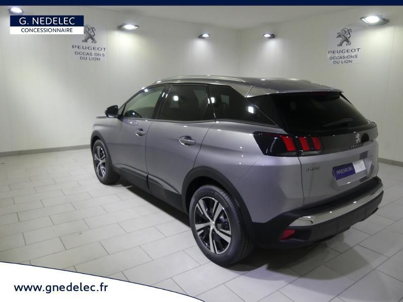 Peugeot 3008 1.5 BlueHDi 130ch E6.c Active S&S 6cv Gris occasion à Quimper - photo n°7