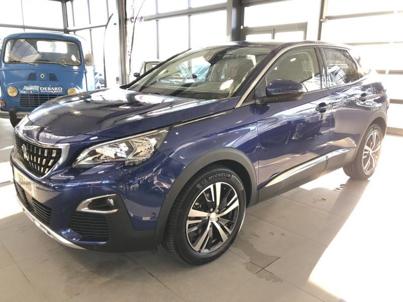 Peugeot 3008 1.5 BLUEHDI 130CH E6.C ALLURE S&S EAT8 Bleu occasion à Mérignac