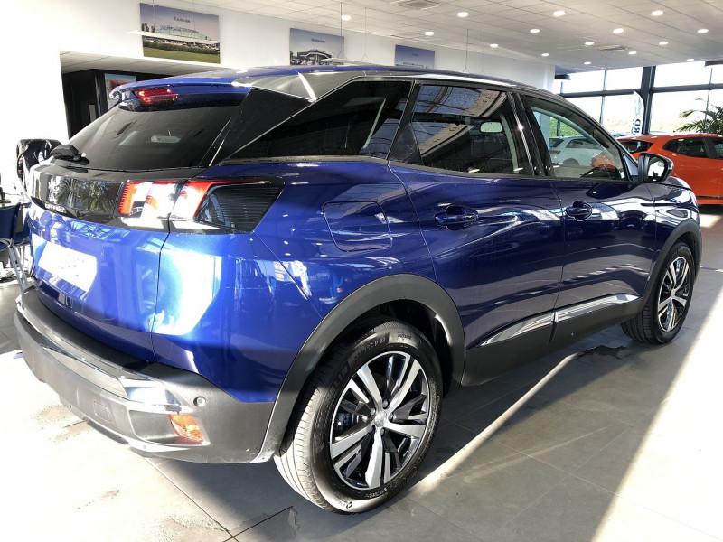 Peugeot 3008 1.5 BLUEHDI 130CH E6.C ALLURE S&S EAT8 Bleu occasion à Mérignac - photo n°3