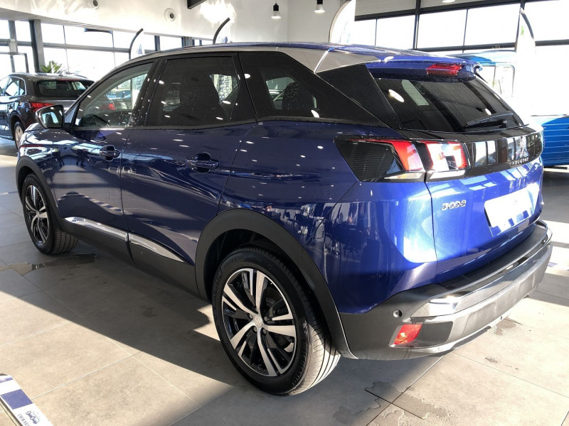 Peugeot 3008 1.5 BLUEHDI 130CH E6.C ALLURE S&S EAT8 Bleu occasion à Mérignac - photo n°4