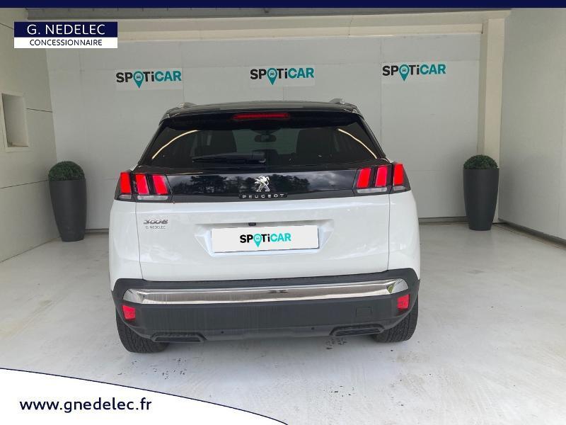 Peugeot 3008 1.5 BlueHDi 130ch E6.c Crossway S&S EAT8 Blanc occasion à Carhaix-Plouguer - photo n°5