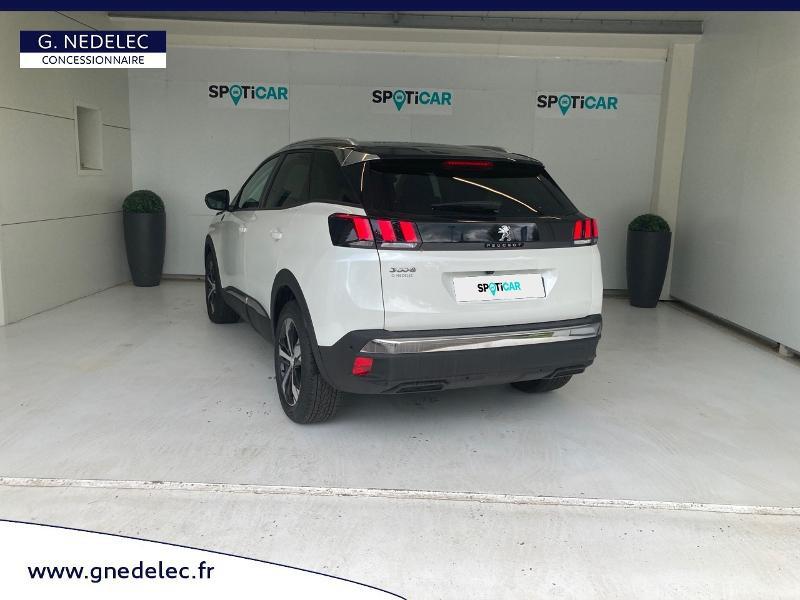 Peugeot 3008 1.5 BlueHDi 130ch E6.c Crossway S&S EAT8 Blanc occasion à Carhaix-Plouguer - photo n°7