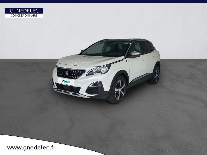Peugeot 3008 1.5 BlueHDi 130ch E6.c Crossway S&S EAT8 Blanc occasion à Carhaix-Plouguer