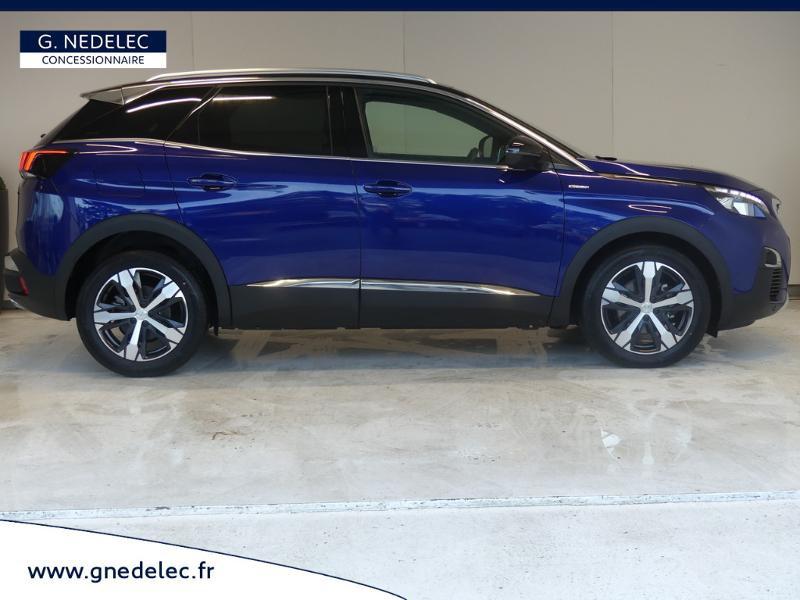 Peugeot 3008 1.5 BlueHDi 130ch E6.c GT Line S&S 7cv Bleu occasion à Carhaix-Plouguer - photo n°4