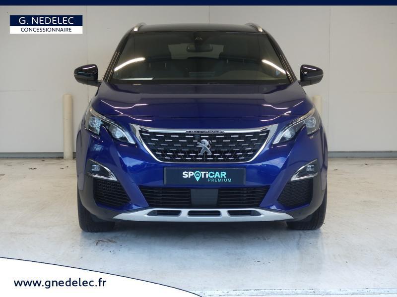 Peugeot 3008 1.5 BlueHDi 130ch E6.c GT Line S&S 7cv Bleu occasion à Carhaix-Plouguer - photo n°2