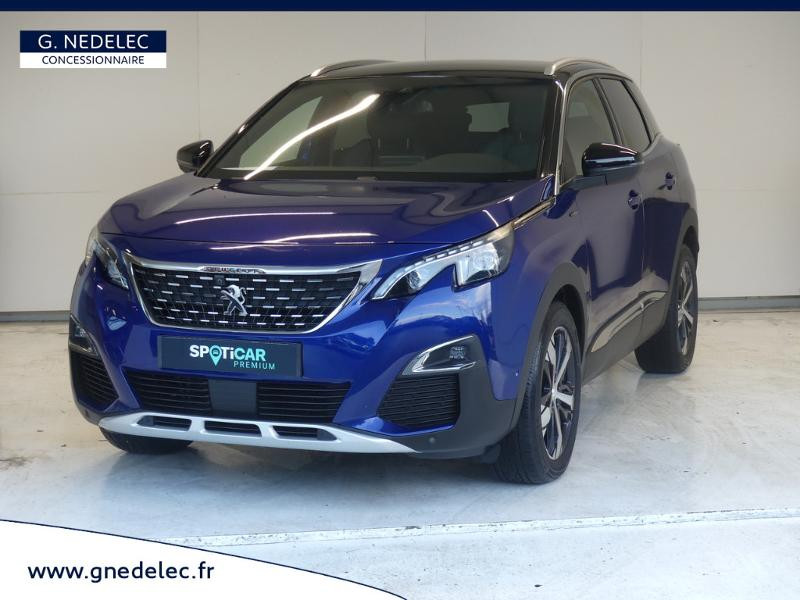 Peugeot 3008 1.5 BlueHDi 130ch E6.c GT Line S&S 7cv Bleu occasion à Carhaix-Plouguer
