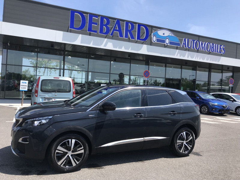 Peugeot 3008 1.5 BLUEHDI 130CH E6.C GT LINE S&S EAT8 Gris occasion à Campsas