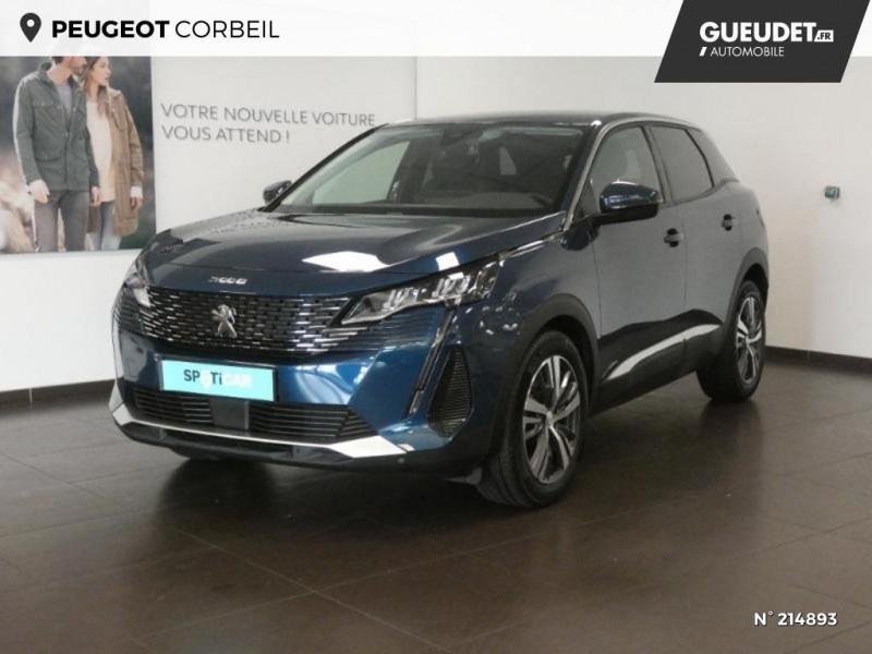 Peugeot 3008 1.5 BlueHDi 130ch S&S Allure EAT8 Bleu occasion à Corbeil-Essonnes