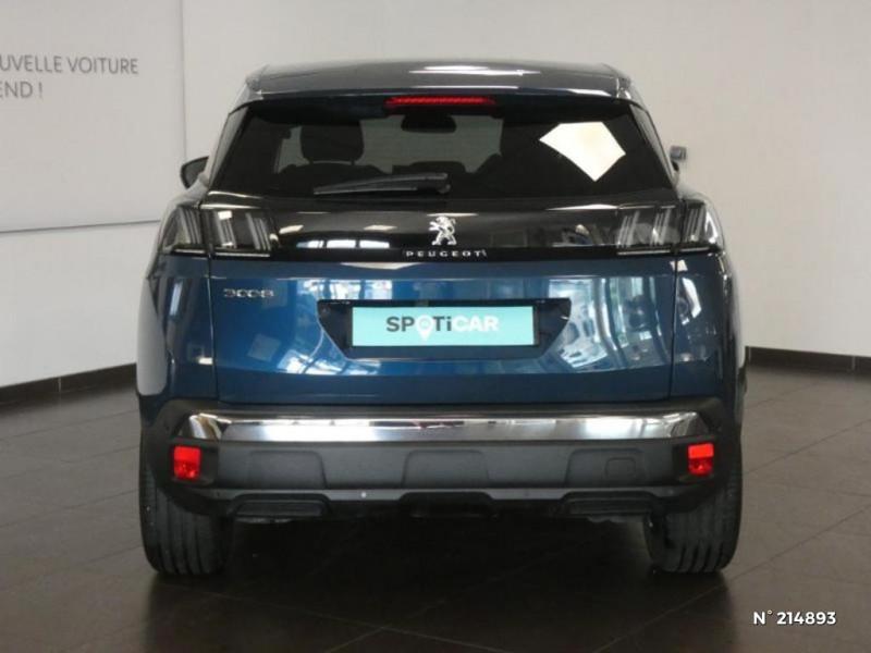 Peugeot 3008 1.5 BlueHDi 130ch S&S Allure EAT8 Bleu occasion à Corbeil-Essonnes - photo n°5