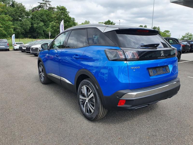 Peugeot 3008 1.5 BLUEHDI 130CH S&S ALLURE PACK EAT8 Bleu occasion à Campsas - photo n°4