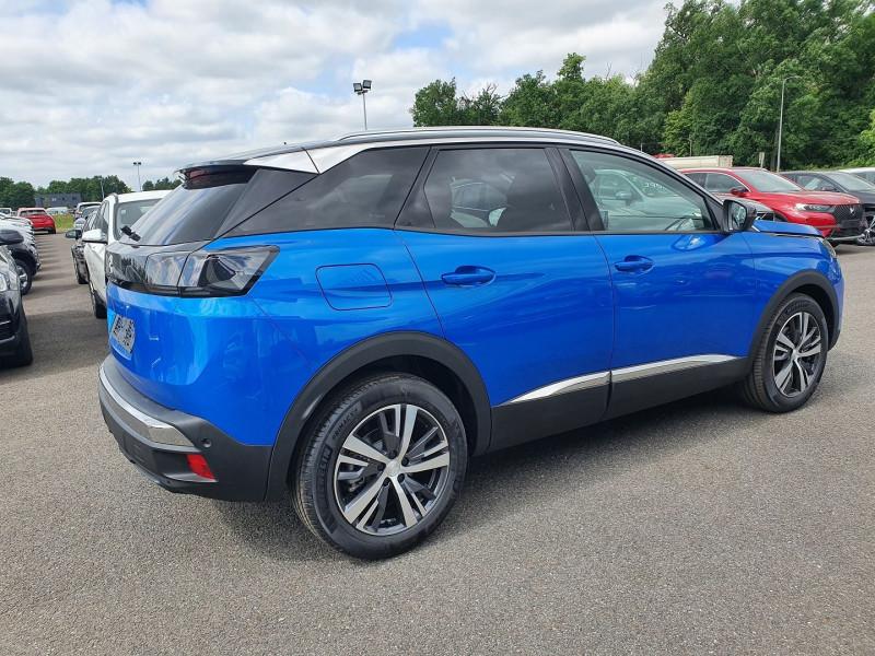 Peugeot 3008 1.5 BLUEHDI 130CH S&S ALLURE PACK EAT8 Bleu occasion à Campsas - photo n°3