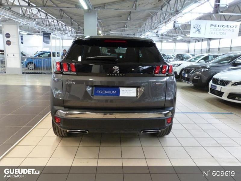 Peugeot 3008 1.5 BlueHDi 130ch S&S GT Line EAT8 Gris occasion à Meaux - photo n°5