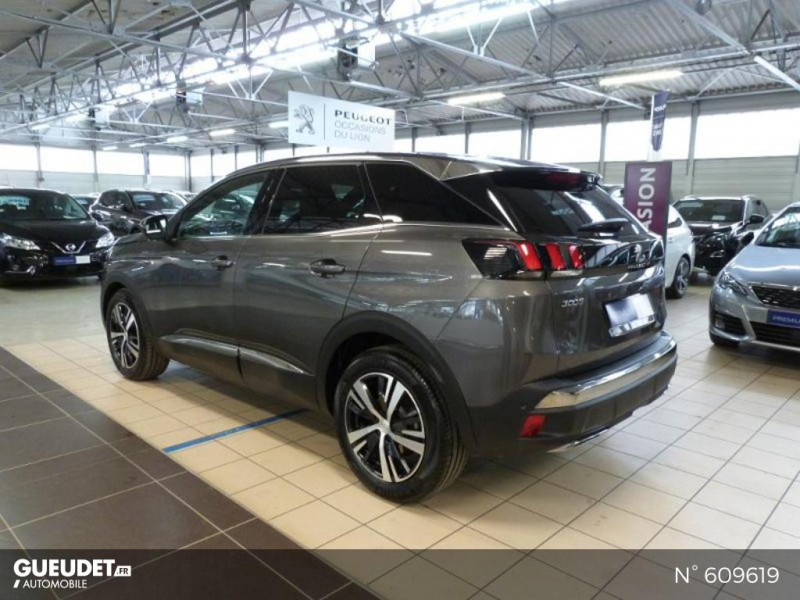 Peugeot 3008 1.5 BlueHDi 130ch S&S GT Line EAT8 Gris occasion à Meaux - photo n°7