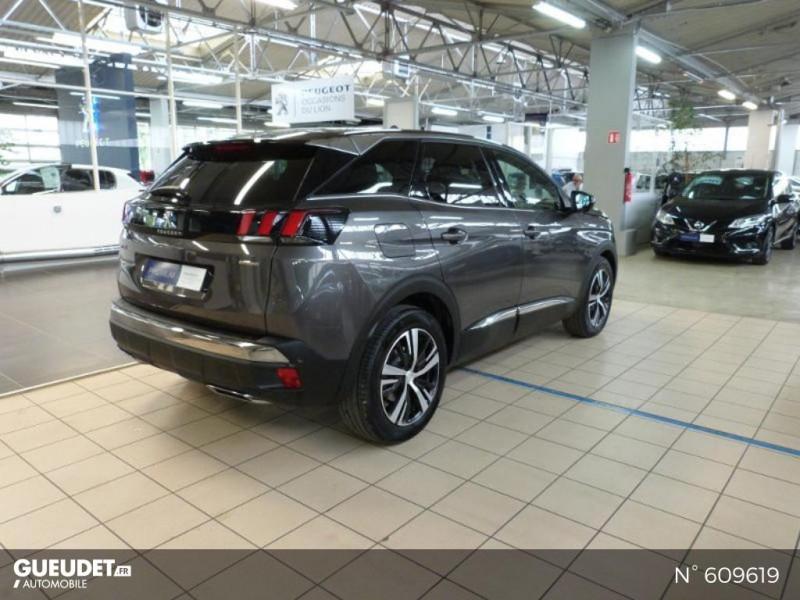 Peugeot 3008 1.5 BlueHDi 130ch S&S GT Line EAT8 Gris occasion à Meaux - photo n°4