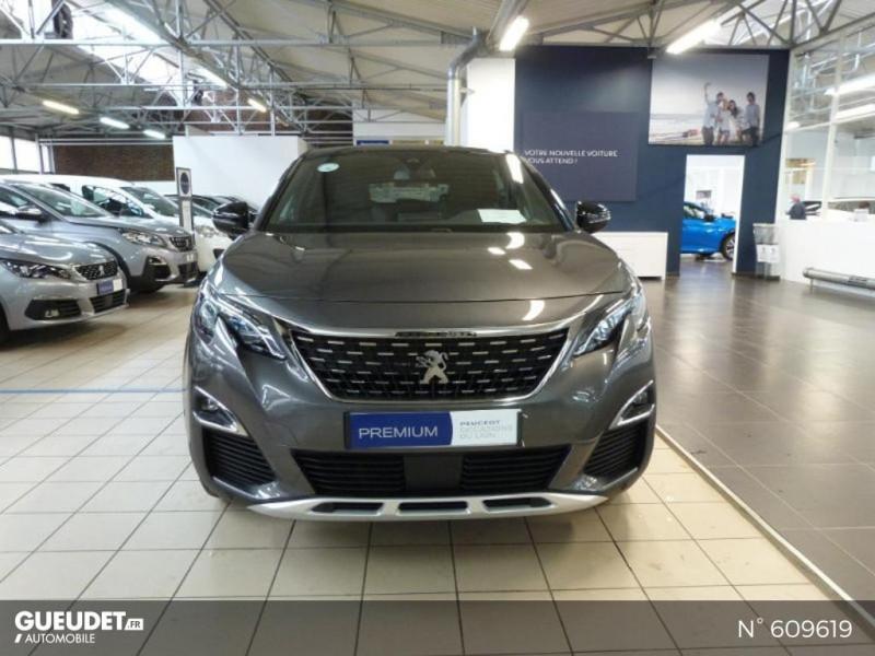 Peugeot 3008 1.5 BlueHDi 130ch S&S GT Line EAT8 Gris occasion à Meaux - photo n°3