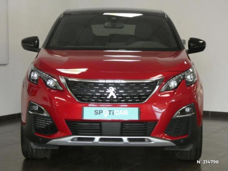 Peugeot 3008 1.5 BlueHDi 130ch S&S GT Line EAT8 Rouge occasion à Corbeil-Essonnes - photo n°3