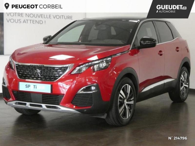 Peugeot 3008 1.5 BlueHDi 130ch S&S GT Line EAT8 Rouge occasion à Corbeil-Essonnes