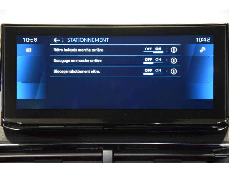 Peugeot 3008 1.5 BlueHDi S&S - 130 - BV EAT8  II Allure PHASE 2 Gris occasion à Riorges - photo n°16