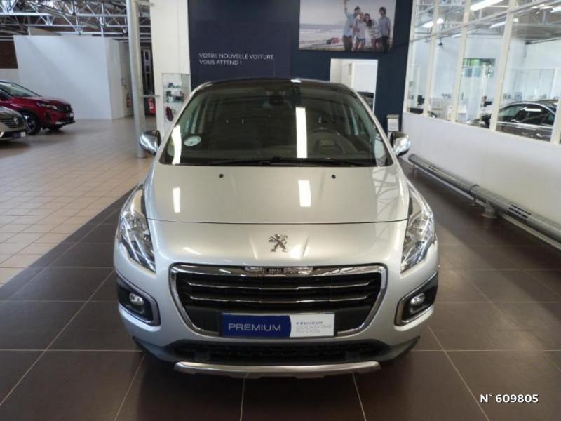 Peugeot 3008 1.6 BlueHDi 120ch Allure S&S Gris occasion à Meaux - photo n°3