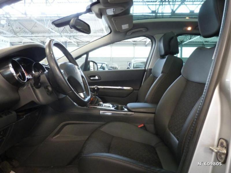 Peugeot 3008 1.6 BlueHDi 120ch Allure S&S Gris occasion à Meaux - photo n°9