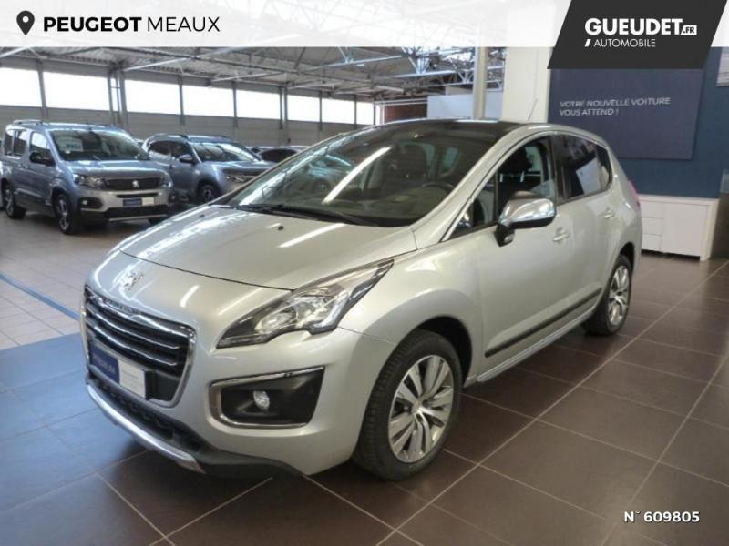 Peugeot 3008 1.6 BlueHDi 120ch Allure S&S Gris occasion à Meaux