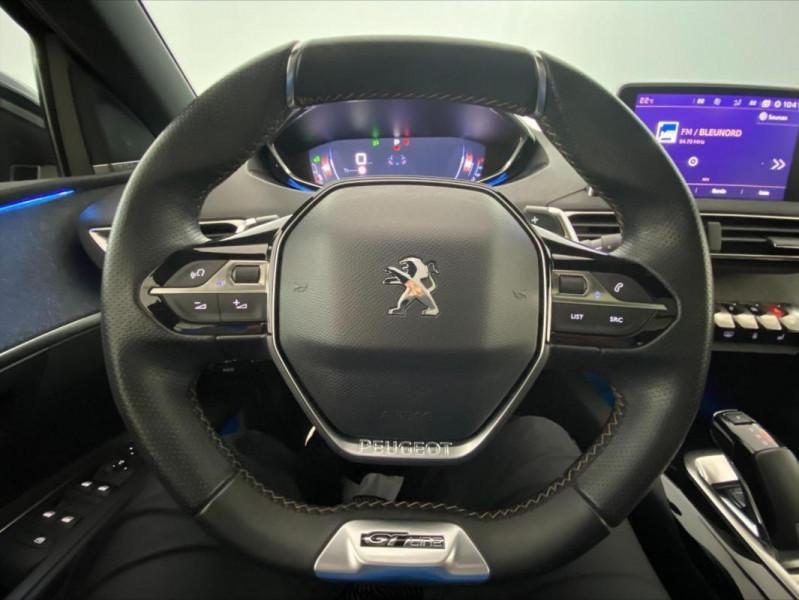 Peugeot 3008 1.6 BlueHDi 120ch S&S EAT6 GT Line Gris occasion à Tours - photo n°12