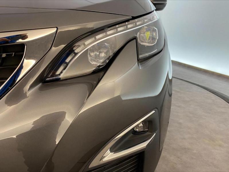Peugeot 3008 1.6 BlueHDi 120ch S&S EAT6 GT Line Gris occasion à Tours - photo n°10