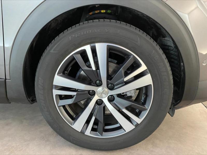 Peugeot 3008 1.6 BlueHDi 120ch S&S EAT6 GT Line Gris occasion à Tours - photo n°11