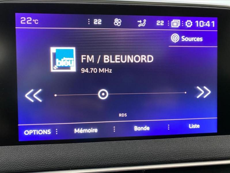 Peugeot 3008 1.6 BlueHDi 120ch S&S EAT6 GT Line Gris occasion à Tours - photo n°13