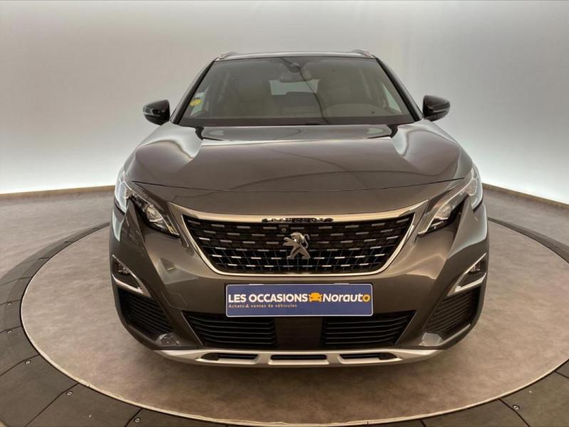 Peugeot 3008 1.6 BlueHDi 120ch S&S EAT6 GT Line Gris occasion à Tours - photo n°2