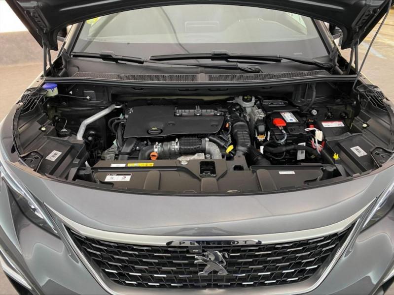 Peugeot 3008 1.6 BlueHDi 120ch S&S EAT6 GT Line Gris occasion à Tours - photo n°15