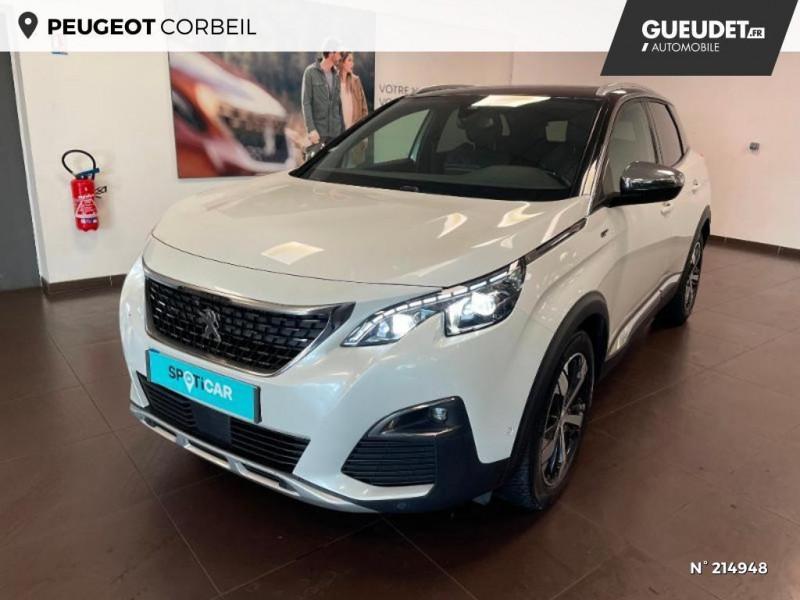 Peugeot 3008 2.0 BlueHDi 180ch GT S&S EAT6 Blanc occasion à Corbeil-Essonnes