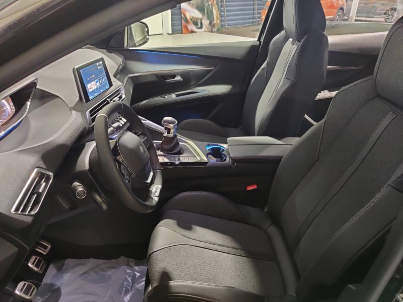 Peugeot 3008 3008 BlueHDi 130ch S&S BVM6 GT Line 5p Noir occasion à Biscarrosse - photo n°7