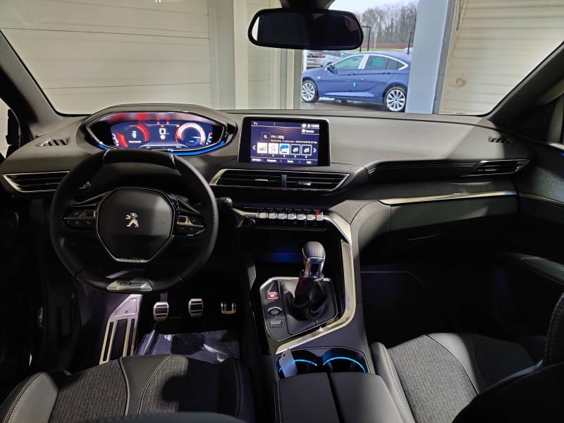 Peugeot 3008 3008 BlueHDi 130ch S&S BVM6 GT Line 5p Noir occasion à Biscarrosse - photo n°8
