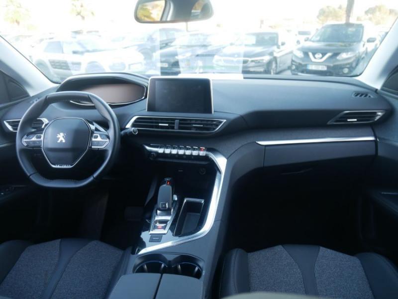 Peugeot 3008 BlueHDi 130 EAT8 ALLURE Hayon Barres Drive Assist Blanc occasion à Carcassonne - photo n°15